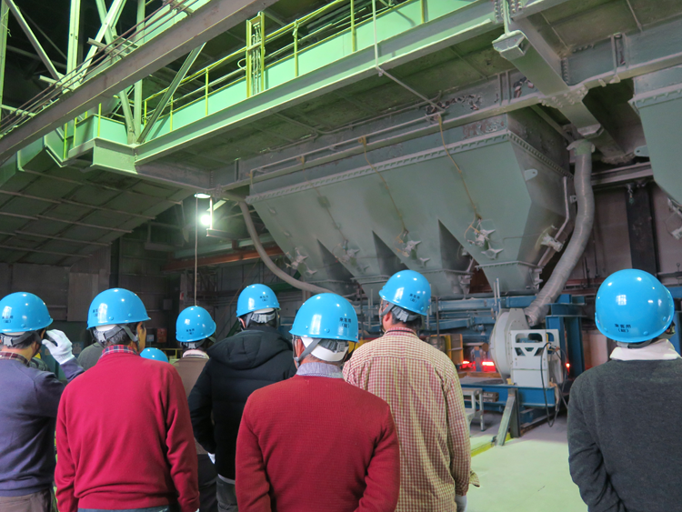 Plant tour for individual shareholders