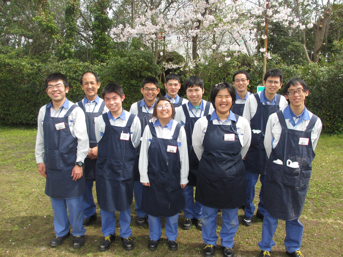 Janitorial Team at the AGC Chiba Plant