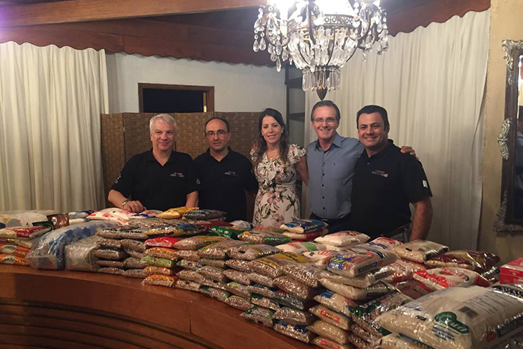 Finance Education Training and charitable food donation drive
