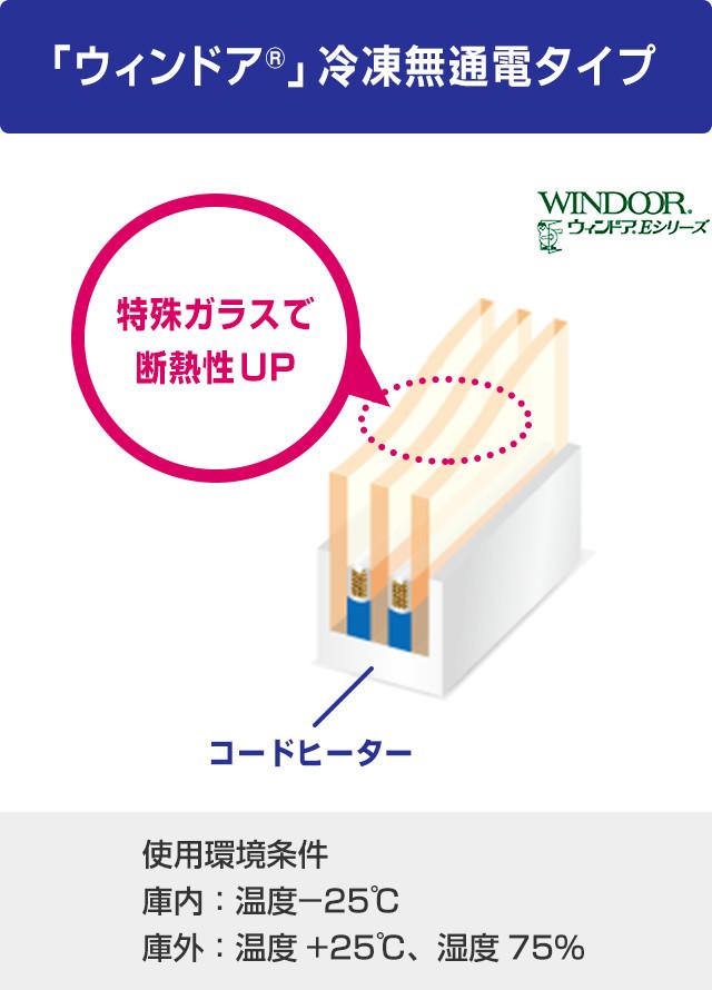 「ウィンドア®」冷凍無通電タイプ