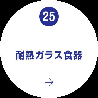 25. 耐熱ガラス食器