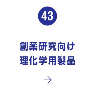 43. 創薬研究向け理化学用製品