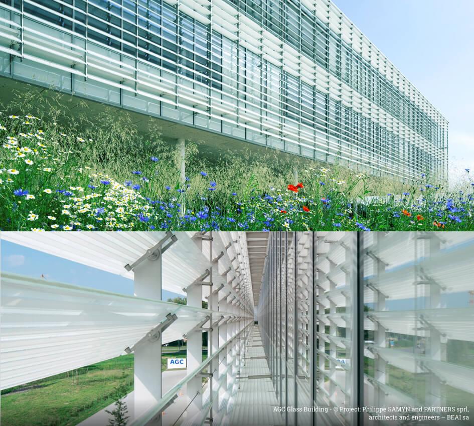 AGCガラス・ヨーロッパ本社の新社屋